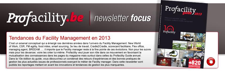 Feuilletez et téléchargez la version complète du Profacility Guide 2013